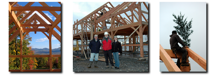 Constructing your Timberpeg Timber Frame