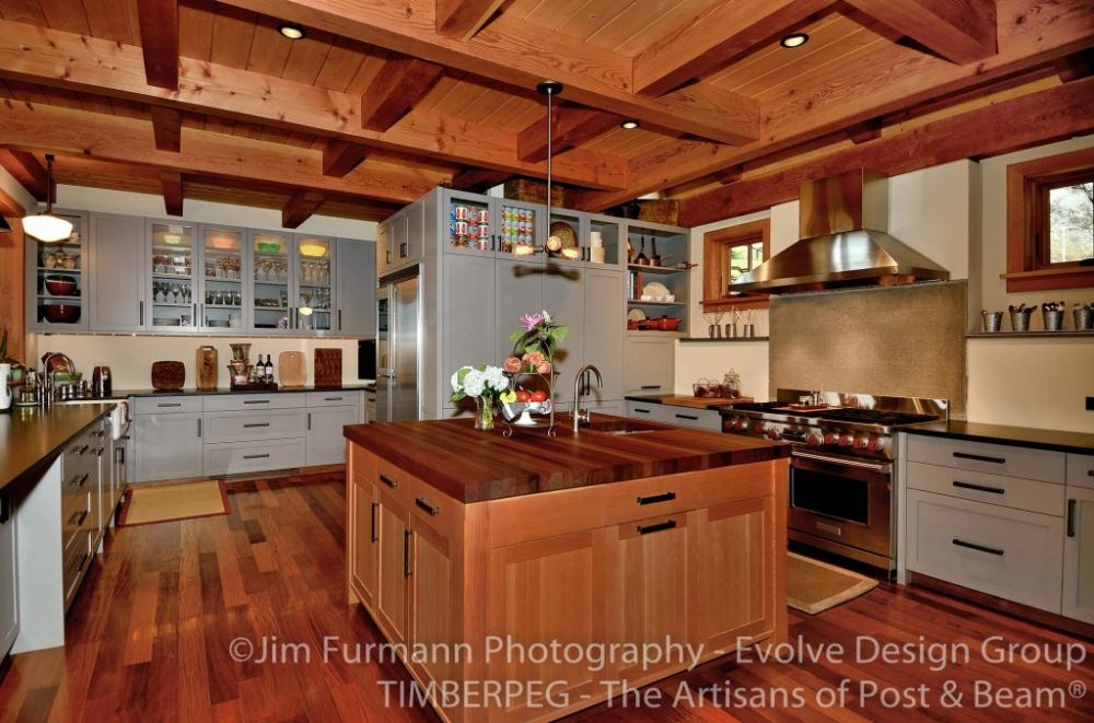 We Hope You Ve Liked This Look At Some Of The Trendy Kitchens That Employ Non Uniform Cabinets If You Re Looking For A New Timber Framed Kitchen