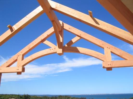 Timber Frame Truss Design In The Barn Home Timberpeg