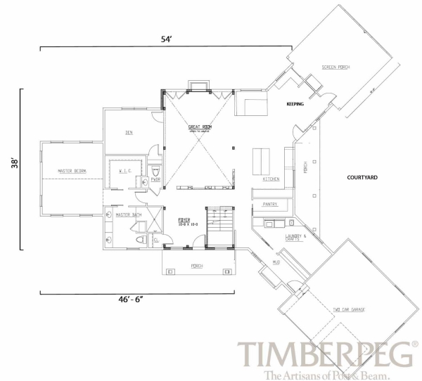 First Floor Plan Hamilton, VA