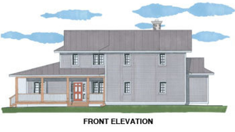 The Cherry Valley (5732)- Front Elevation