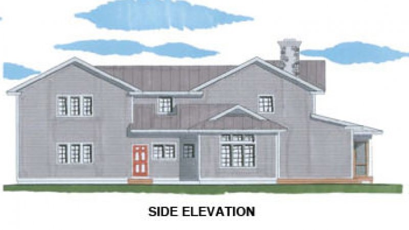 The Cherry Valley (5732)- Side Elevation
