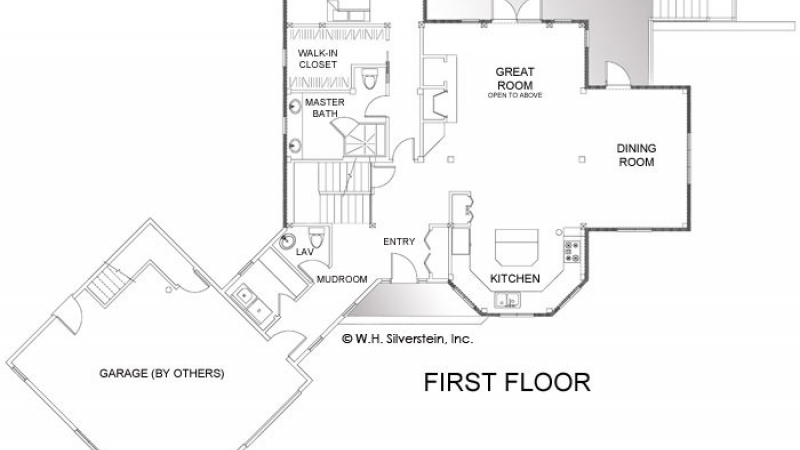The Donner Lodge-First Floor Plan