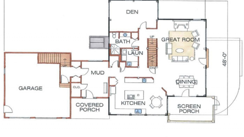 The North Pomfret (T00014)-First Floor Plan