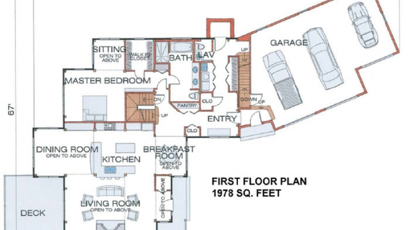 The Peterborough (5697/ 5711)- First Floor Plan