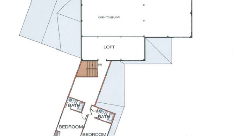 The Six Mile (6078)-Second Floor Plan