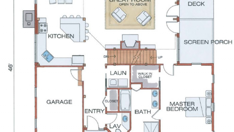 The Spencer (6106/ T00113)- First Floor Plan