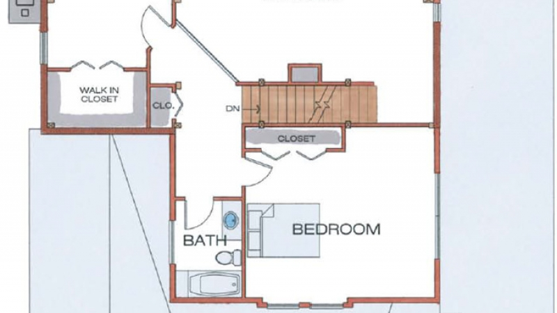 The Spencer (6106/ T00113)- Second Floor Plan