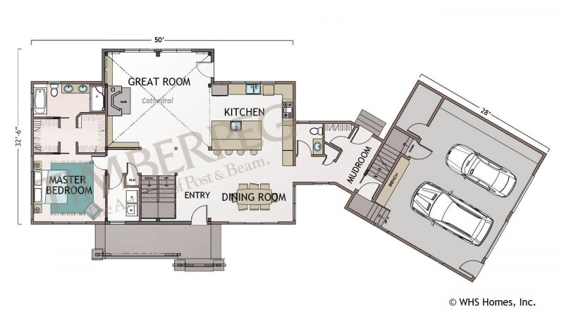 The Chester First Floor Plan