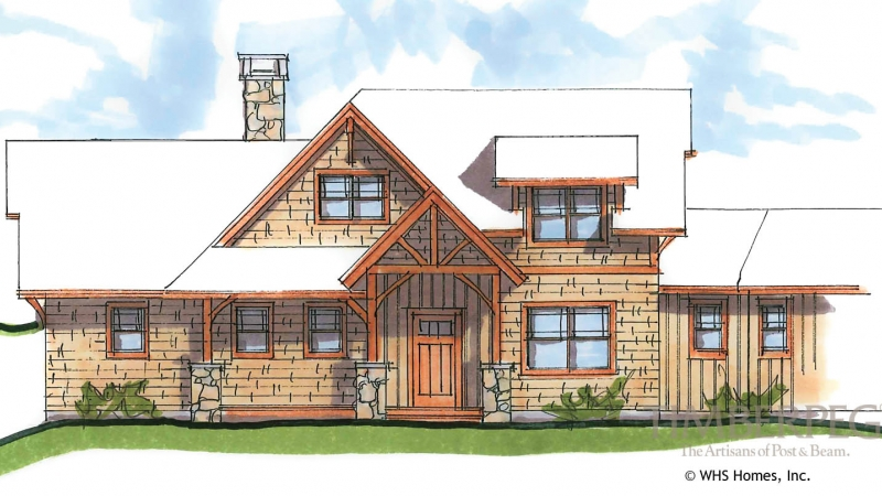 The Chester Timber Frame Home