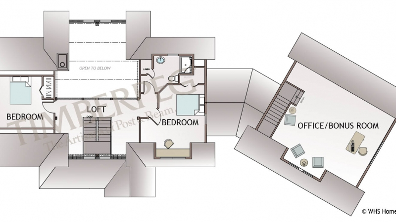 The Chester Second floor Plan