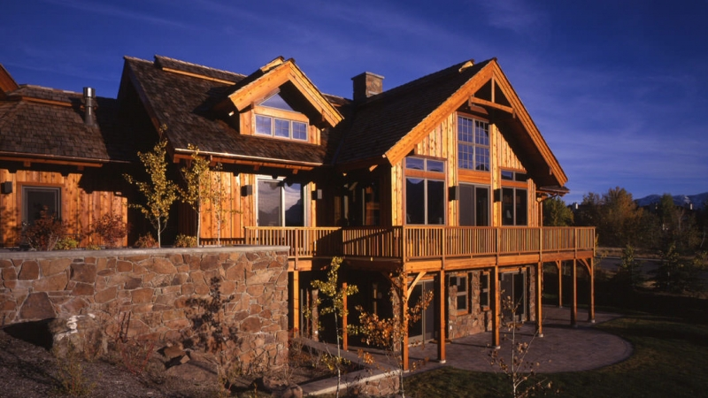 Amazing Sun Valley Id Timberpeg Timber Frame Post And Beam Homes Home Interior And Landscaping Eliaenasavecom