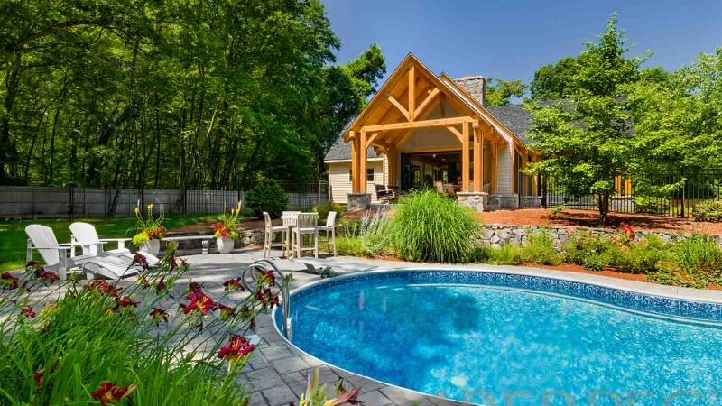 Massachusetts Pool House (T01174)