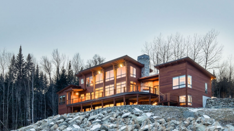 Franconia, NH Mountain Modern (T01265)