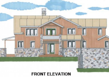 Ashton Woods II (5914)- Front Elevation