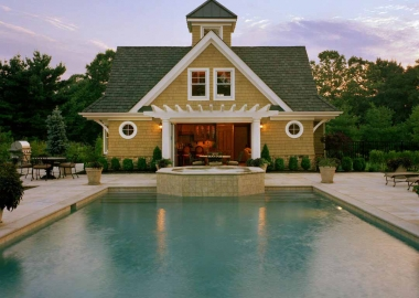 Guest Cottage And Pool House (5676)
