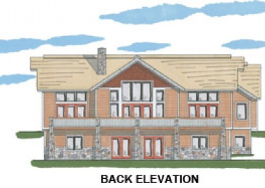 The Grand Lake (5609)- Back Elevation