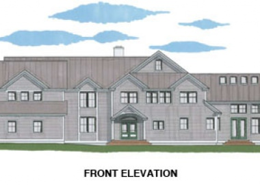 The Londonderry (#5328) - Front Elevation