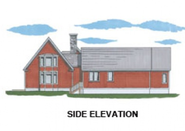 The Shelburne (6017)- Side Elevation