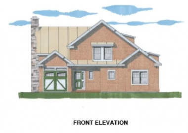 The Spencer (6106/ T00113)-Front Elevation