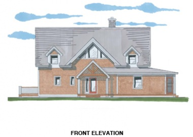 The Waterford (5971)- Front Elevation