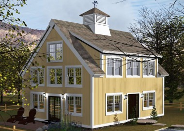 Barn Style Center Harbor (T00463)-Exterior
