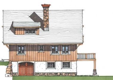 The Kingdom Cottage- Elevation