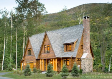 White Mountains Riverside Retreat, NH (5689)