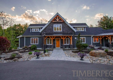 Wondrous Post And Beam Timber Frame Showcase Homes Timberpeg Post Home Interior And Landscaping Ologienasavecom
