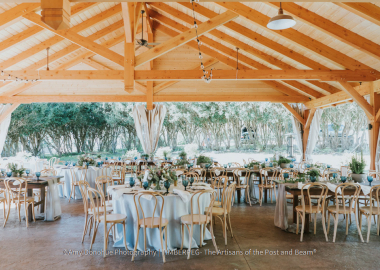 Event Pavilion at The Fells Estate and Gardens - Photo by Amy Donohue