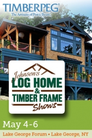 Johnson's Log & Timber Frame Home Show - Lake George, NY