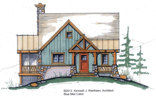 Timberframe house plans for Timber frame house plans cottage