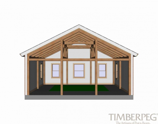 Timberpeg Timber Frame | Bridge Trusses | Post and Beam Homes