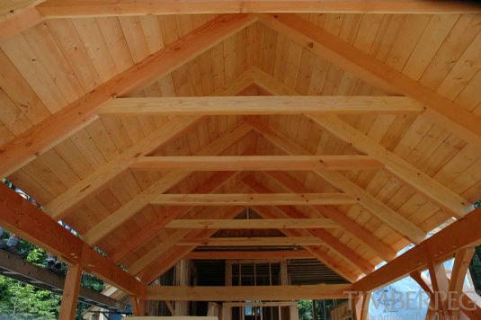 Collar Tie Trusses Timberpeg Post And Beam