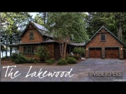 Timberpeg Lakewood Timber Frame Home