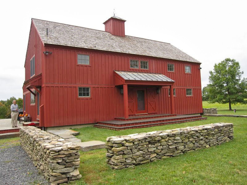 Chatham New York Barn Style Red Home