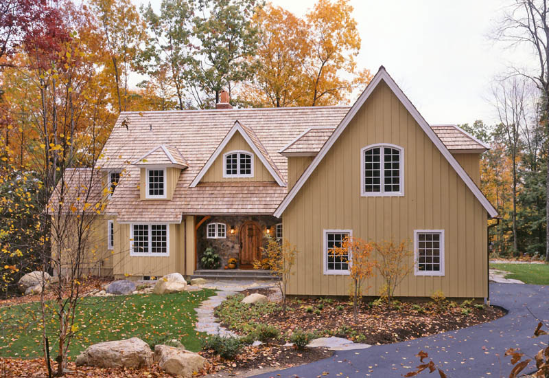 the easthampton post and beam cottage on a grand scale timberpeg rh timberpeg com post and beam cottage kits post and beam cottage plans