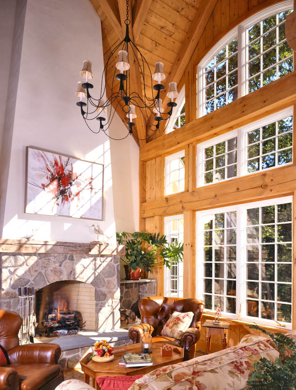 The Easthampton Post And Beam Cottage On A Grand Scale