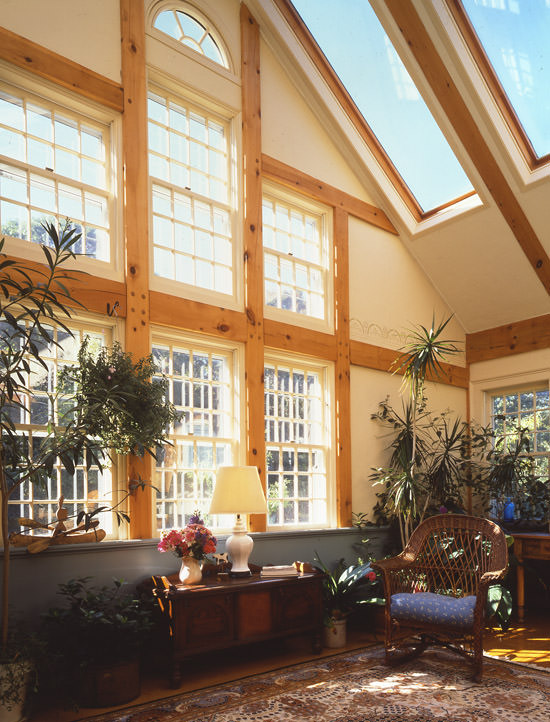 Letting The Sunlight Into Your Post And Beam Home Timberpeg Timber Frame Post And