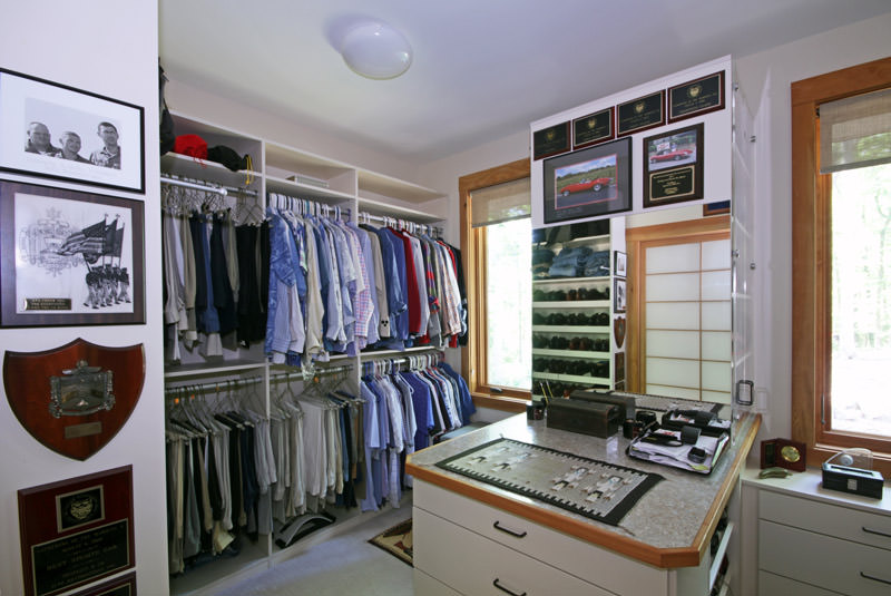 In Designing The Closet, Organization Is Key. Make Notes Of Your Routine  And Design The Closet For Your Lifestyle. Although A U201cstandardu201d Closet Has  One Bar ...