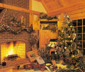 a brief history of christmas decorations perfect for the barn home - Barn Christmas Decorations