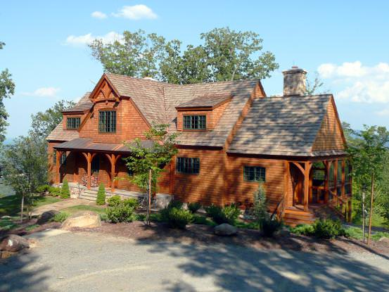 the afton an understatedly elegant timber frame home - Afton Home Floor Plans