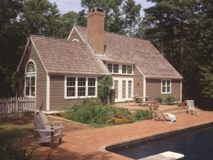 A question of style the cape cod house timberpeg timber for A frame house characteristics