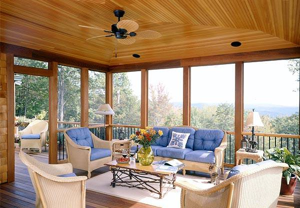 Sunrooms a perfect all season retreat timberpeg timber for Timber frame sunroom addition