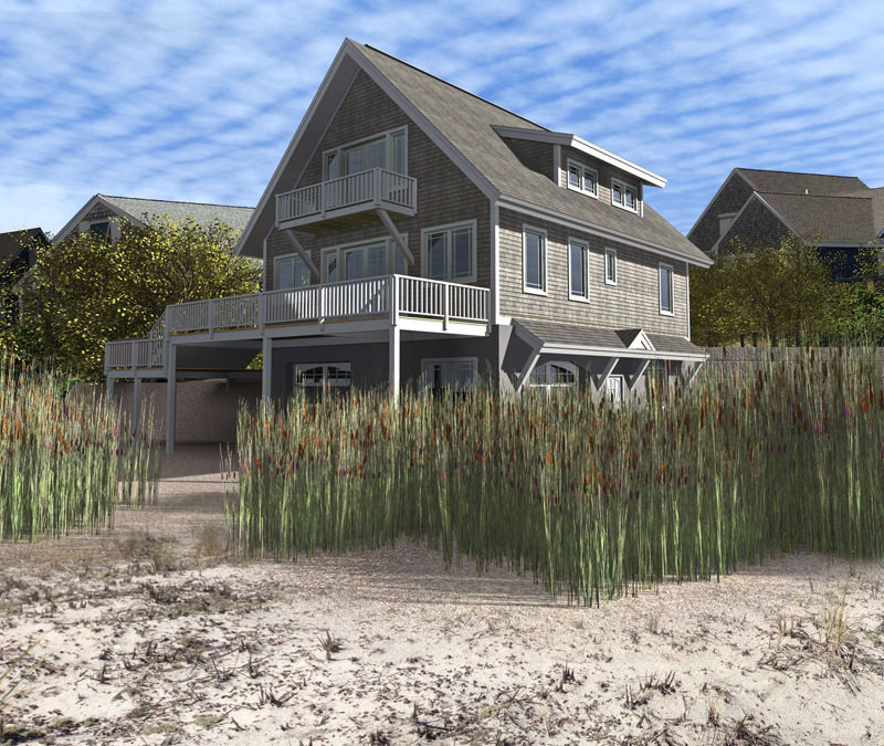Ski chalet easily becomes cape cod beach house timberpeg for Cape cod beach house plans